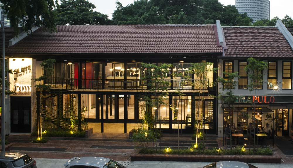 Projects The Row Studio Bikin Architect Kuala