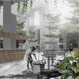 Un Built Proposal Food Exchange Studio Bikin Architect Kuala